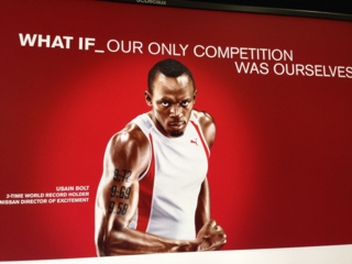 What if our only competition was ourselves? Usain Bolt