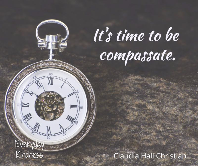 It's time for compassion.