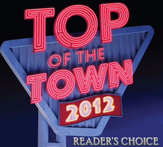 2012-Reader's Choice Top of the Town