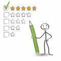 Leave a review - give them 5 stars!