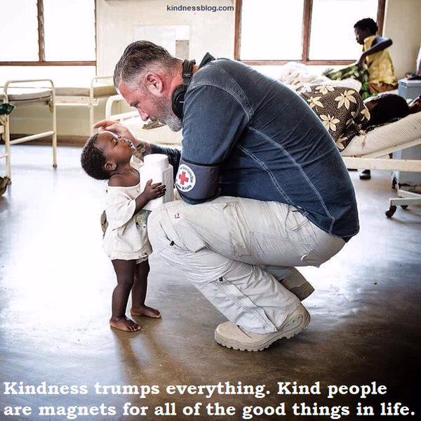 Kindness trumps everything