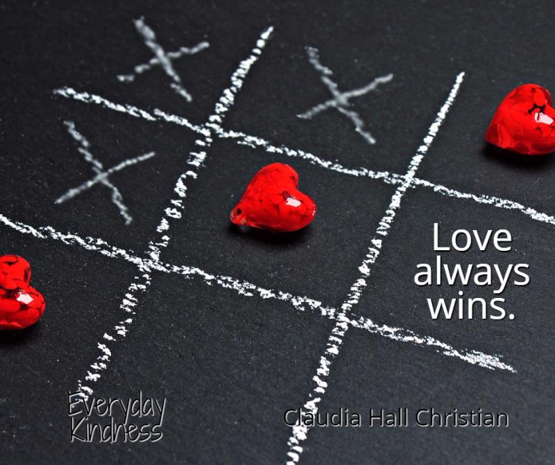 Love always wins.