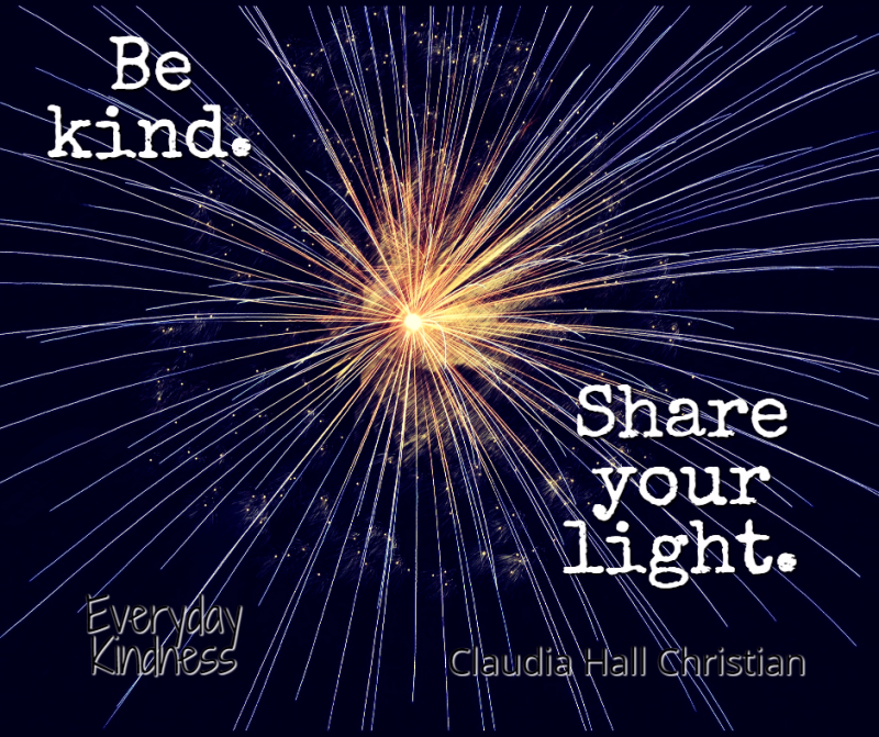 Share your life through kindness