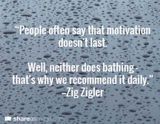 Daily inspiration = success