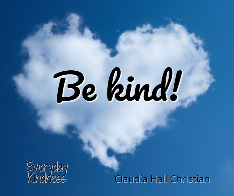 Kindness is written in the sky!