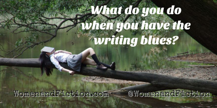 What do you do when you have the writing blues?