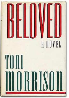First edition cover of Beloved by Tony Morrison